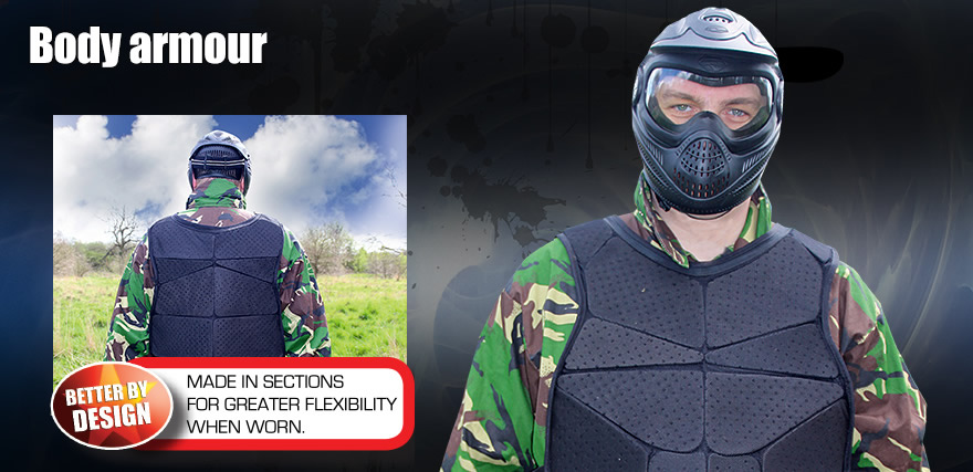 Body armour image full head
